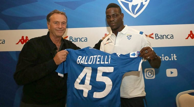 Mario Balotelli targeted with more racism, by his club president   Sports News, The Indian Express