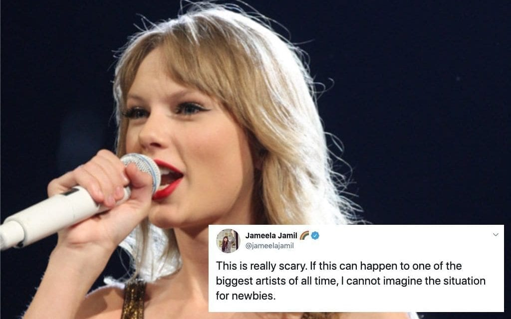 Right here Are All The Celebrities Supporting Taylor Swift In Her Fight Against Big Machine
