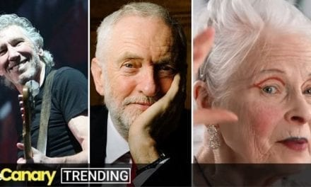 Dozens of celebrities come out for Jeremy Corbyn, but the UK media looks the other way