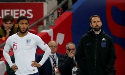 Sterling & Southgate on Gomez being booed vs Montenegro