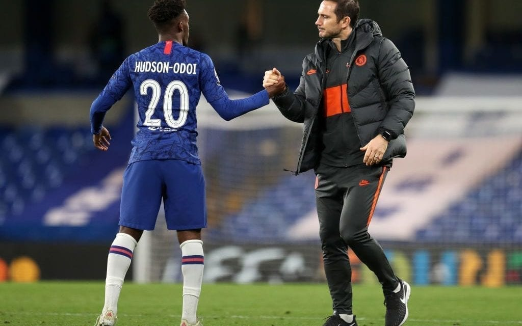 Hudson-Odoi had one conversation with Lampard before signing new Chelsea deal