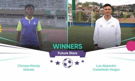 "Chinasa Ukandu from Nigeria, Luis Alejandro Castañeda from Colombia win WorldRemit, Arsenal ""Future Stars"" coaching programme – For latest Sports news in Nigeria & World"