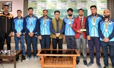 Kiren Rijiju felicitates World Para Athletics Championships medal winners with cash awards – Sports News