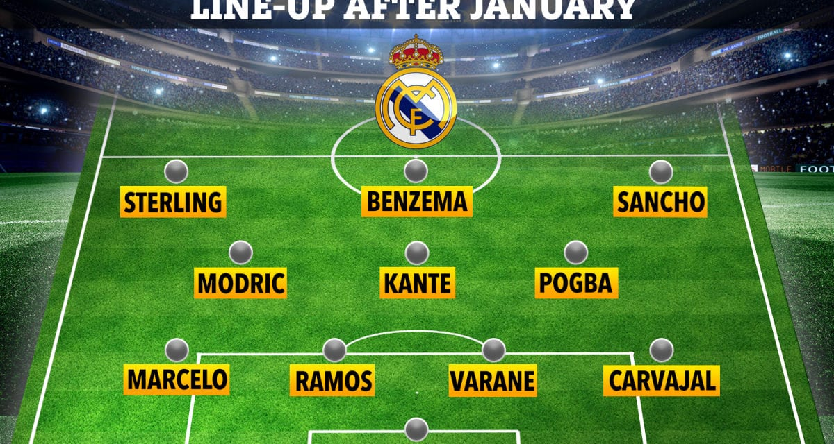 How Real Madrid could line up with Sterling, Sancho and Kante as La Liga giants plot sensational transfer spree