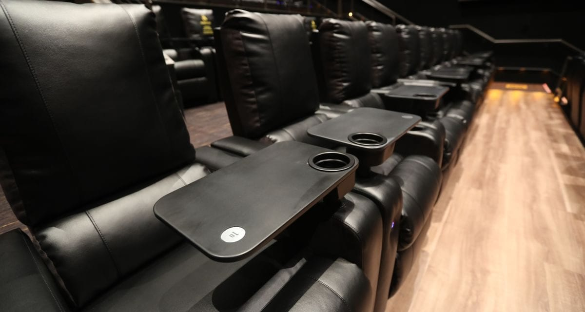 The AMC Dine In theater at the Fashion District opens Nov. 4. Here's what it has to offer.