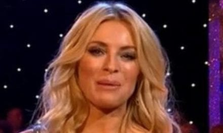 Strictly viewers left 'annoyed' and 'distracted' by Tess Daly's falling shoulder strap