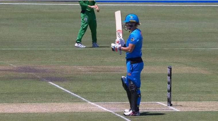 Enjoy: New Zealand's Sophie Devine hits 5 6s in a row in WBBL match|Sports News, The Indian Express