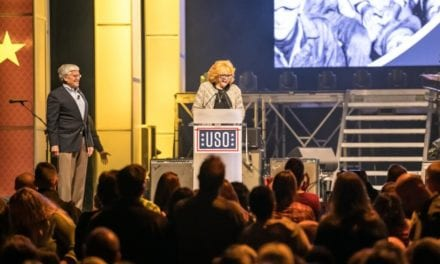 Celebrities join USO to celebrate Armed Forces