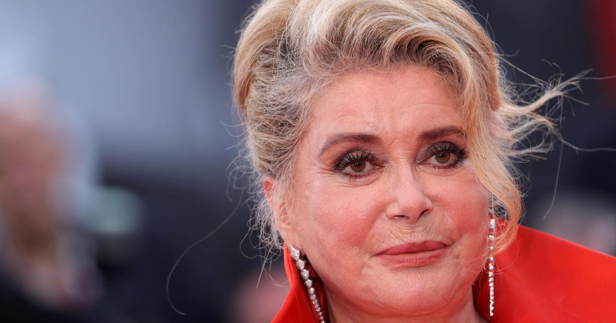 Catherine Deneuve, French film icon, suffers small stroke, family says today – CBS News