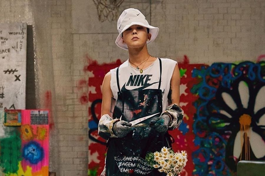 Celebrities Who Were Seen Sporting G-Dragon's Limited Edition Nike Sneakers : News : KpopStarz
