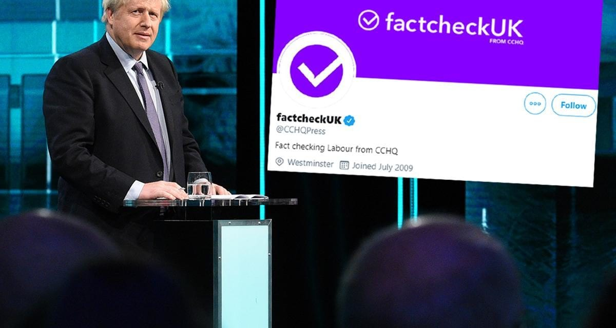 Opinion: The Tories' fake 'fact-checking' service is a desperate, Trump-style move