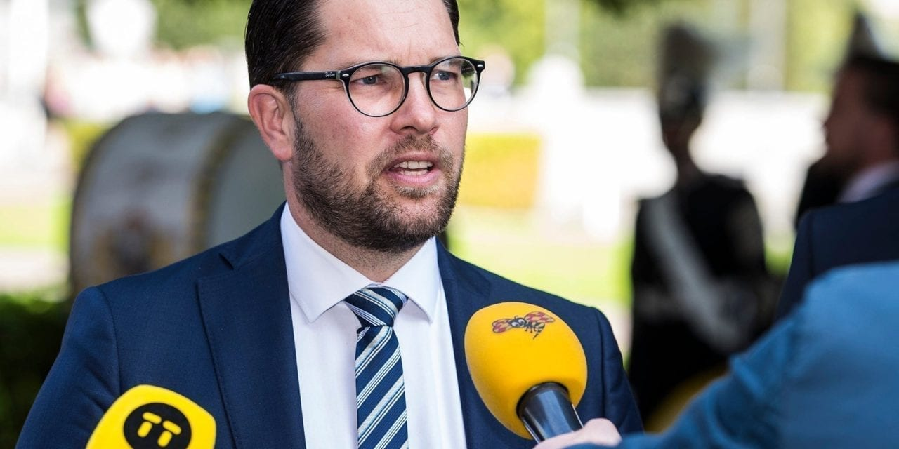 Sweden's far right party surges into first place in shock new poll