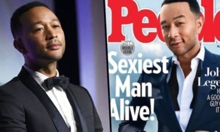 John Legend Has Been Named the 'Sexiest Man Alive'