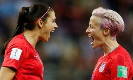 UNITED STATE ladies's group provided course activity standing in equal-pay suit|Sports Information, The Indian Express