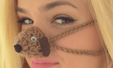 The Hottest New Piece of Winter Functional Fashion? Nose Warmers