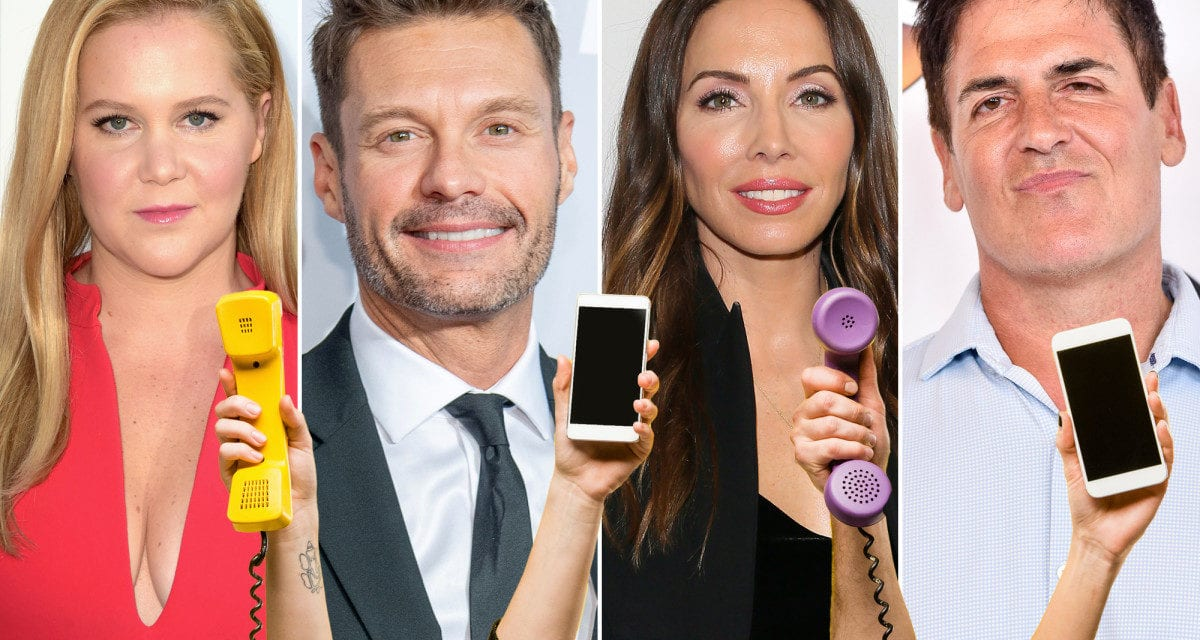 Here's why celebrities are giving away their phone numbers
