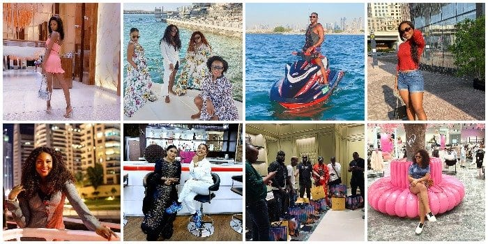 20 Nigerian celebrities that have stormed city of gold Dubai for the weekend and currently having the time of their lives (VIDEO/PHOTOS) – Madailygist