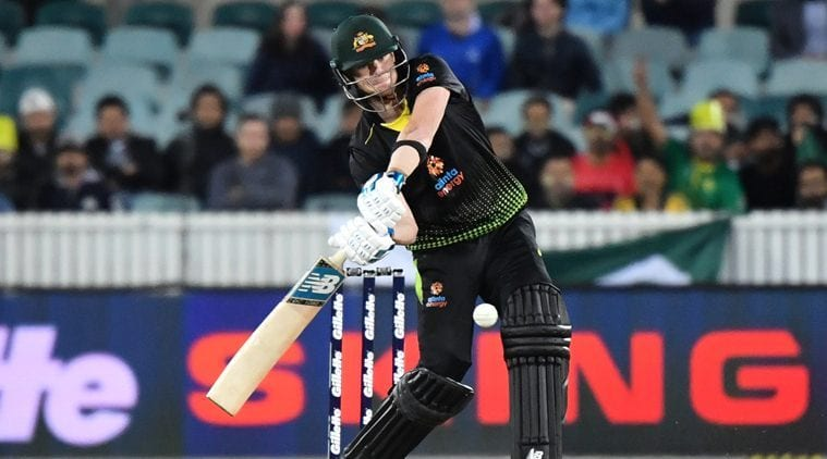 AUS vs PAK 2nd T20I: Australia crush visitors by seven wickets, Steve Smith rules proceedings | Sports News, The Indian Express