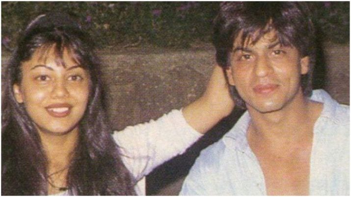 Throwback images of Shah Rukh Khan as well as Gauri specify their best love tale|Celebrities News– India TELEVISION