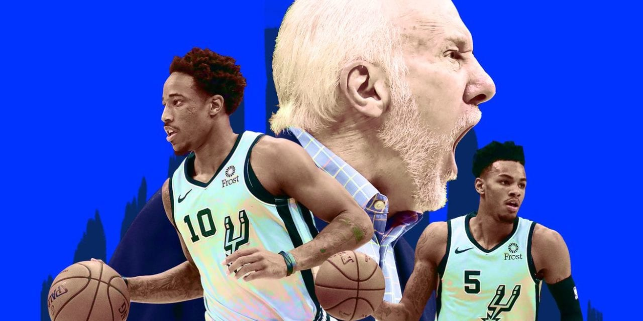 The Spurs' bad start is the cost of being stuck between eras > Latest World Sports News