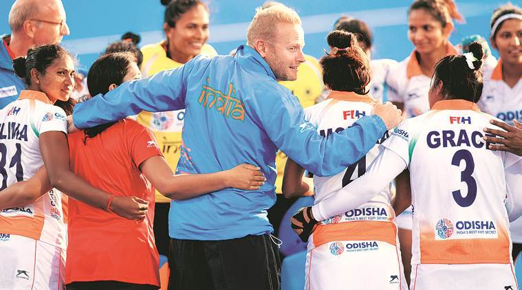 Hockey Olympic Qualifiers: Women at home… not quite | Sports News, The Indian Express