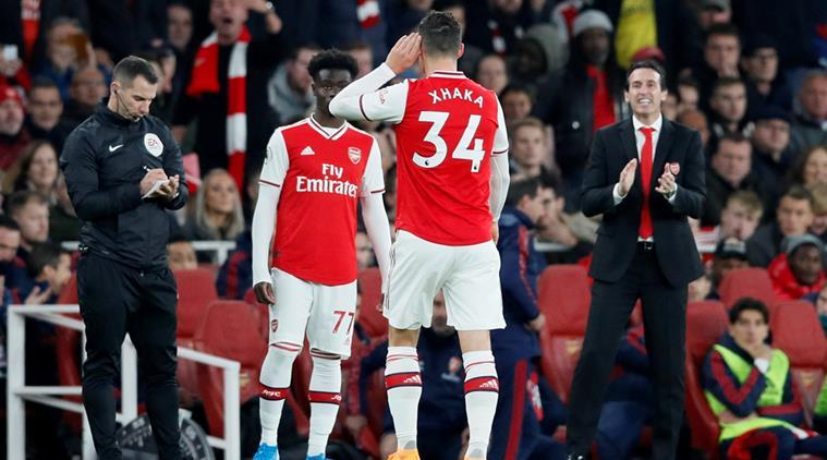 Emery tells Xhaka to apologise, Arsenal offers counselling to 'devastated' captain   Sports News, The Indian Express