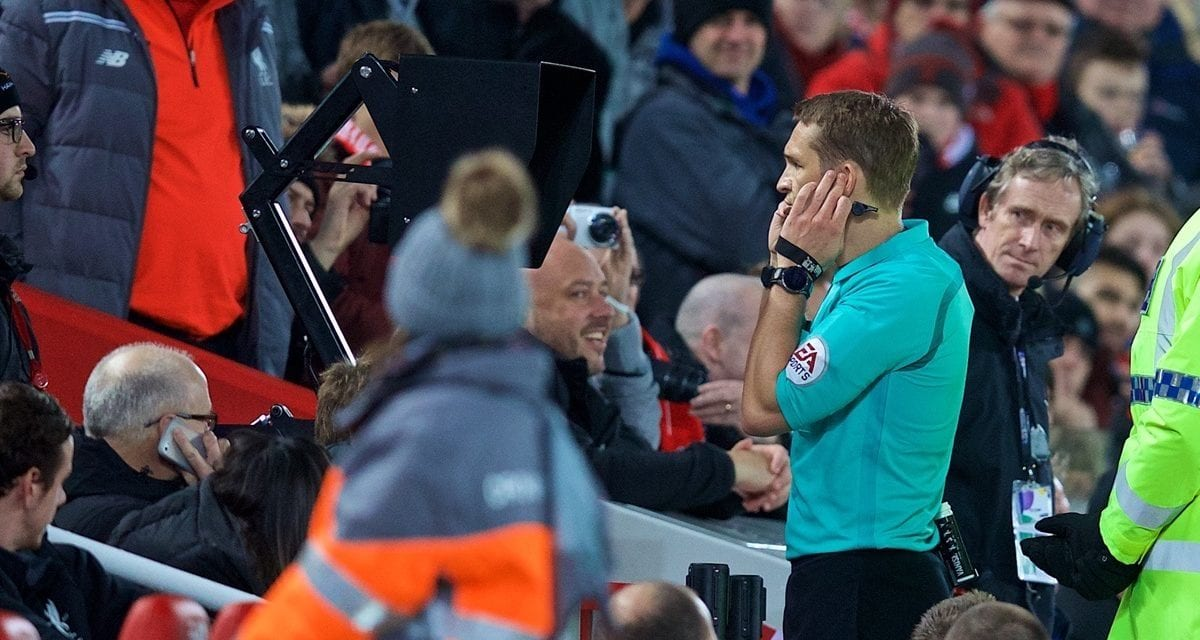 Arsene Wenger prompts Premier Organization to utilize pitchside monitors – and also Anfield to get a cinema