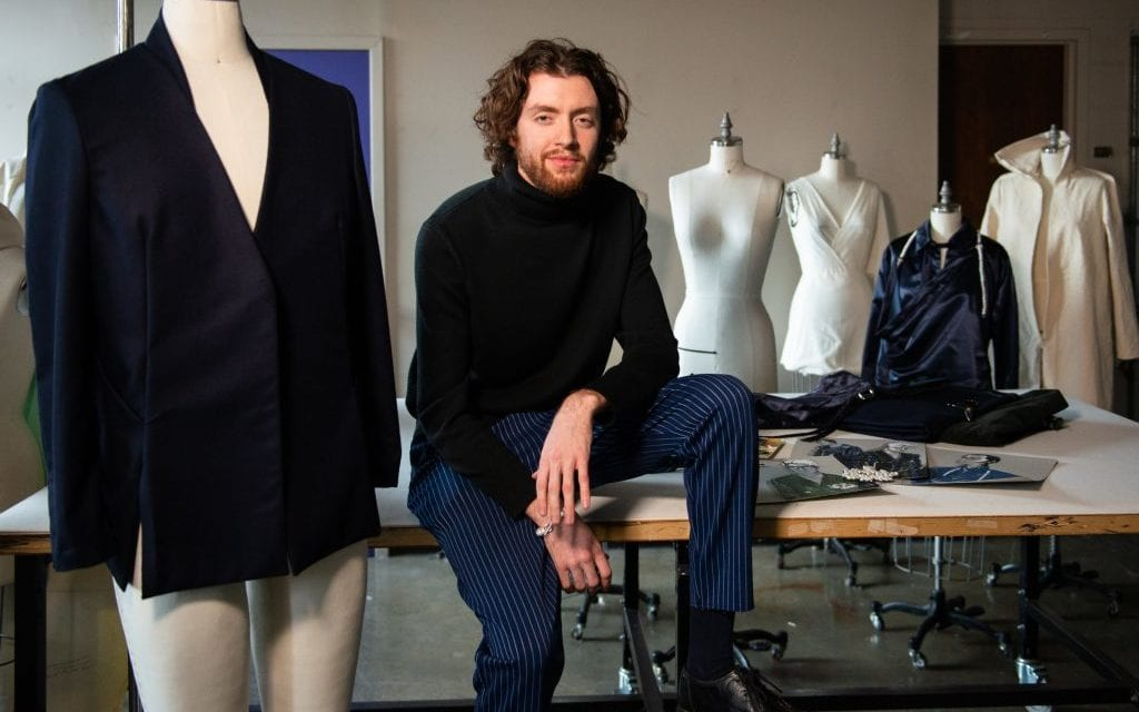 Fashion design senior explores masculinity through menswear – VCUarts