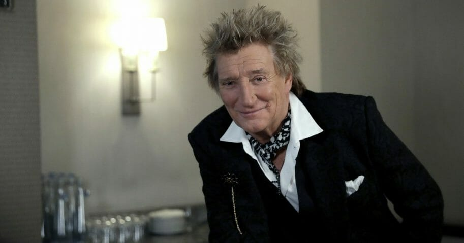 Rod Stewart Has Spent 23 Years Building Scale Model Railroad and City in His Attic