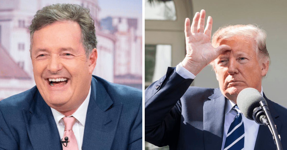 Piers Morgan Scolds 'Dumb Liberal Celebrities and Shockingly-Biased Media' Over Impeachment