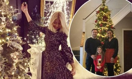 Celebrities show off their Christmas decorations on Instagram | Daily Mail Online