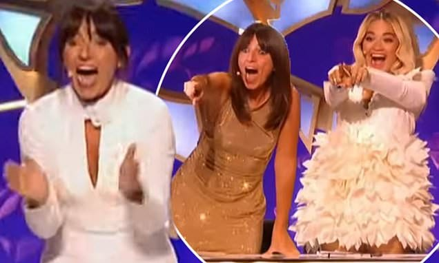 The Masked Singer UK FIRST LOOK: Davina McCall and Rita Ora try to identify the 12 celebrities | Daily Mail Online