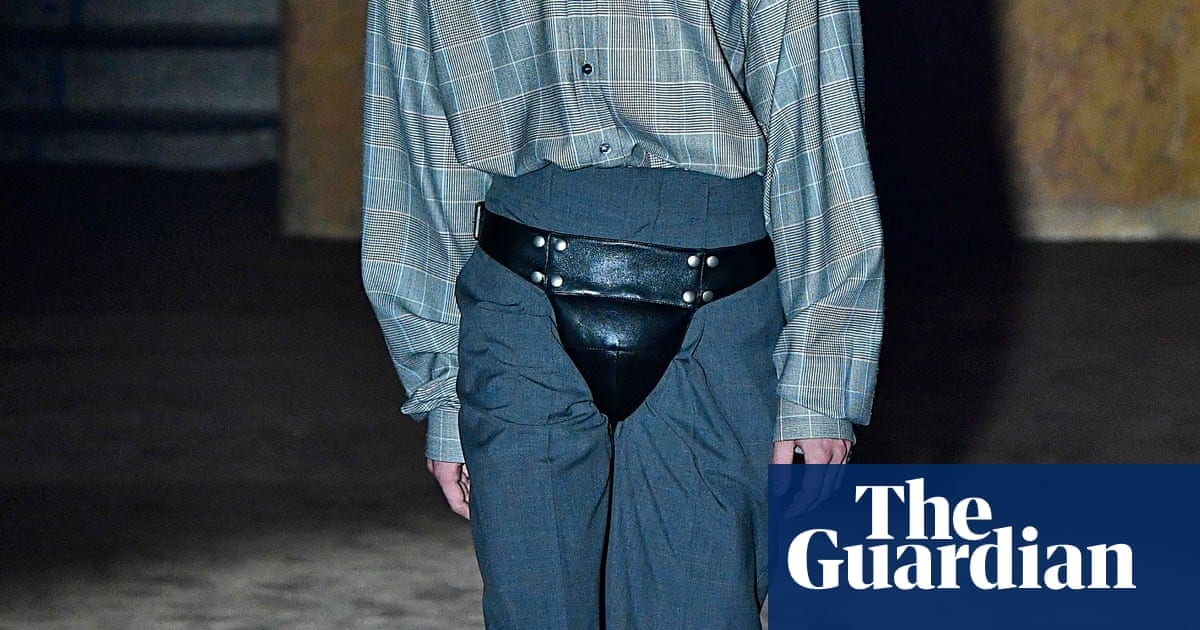 'Intended to induce awe': codpiece thrusts itself back into fashion | Fashion | The Guardian