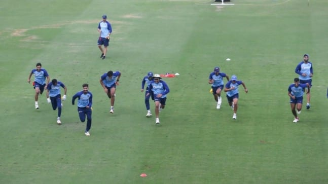 Watch: Team India's new training drill to increase speed, absorb pressure – Sports News
