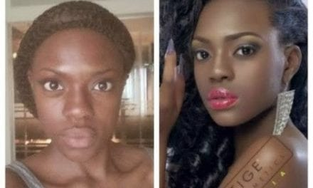 30 Nigerian Female Celebrities Without Makeup