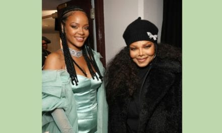 Rihanna receives 2019 Urban Luxe Award for Fenty casual wear from her idol, Janet Jackson