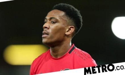 Anthony Martial set to miss Man Utd's clash against Tottenham due to injury
