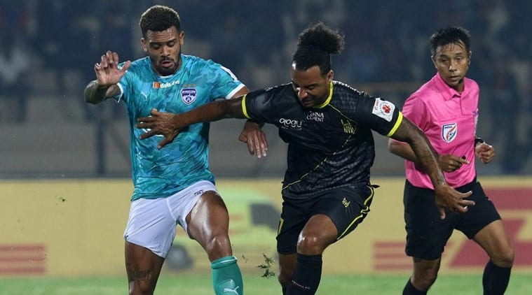 Robin Singh's injury-time strike helps Hyderabad snatch 1-1 draw against Bengaluru | Sports News, The Indian Express
