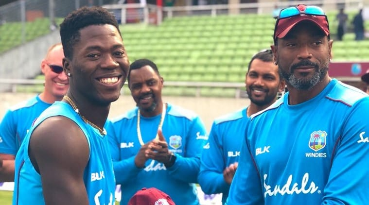 West Indies attempting to adapt to Indian pitches: Sherfane Rutherford|Sports Information, The Indian Express