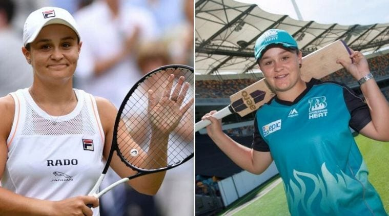 Tennis star Ashleigh Barty revisits her old cricket days with Brisbane Heat | Sports News, The Indian Express