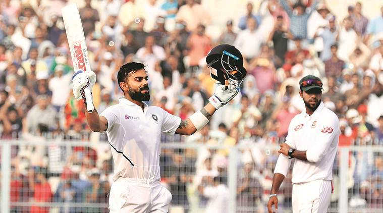Day/Night Test: Virat Kohli passes with flying colours | Sports News, The Indian Express