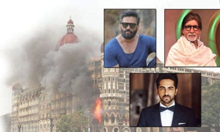 Bollywood Celebrities come out to remember the horrendous wound of 26/11