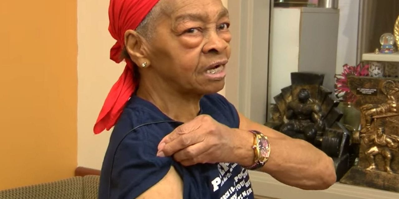82-year-old bodybuilder beats up man who broke into her home