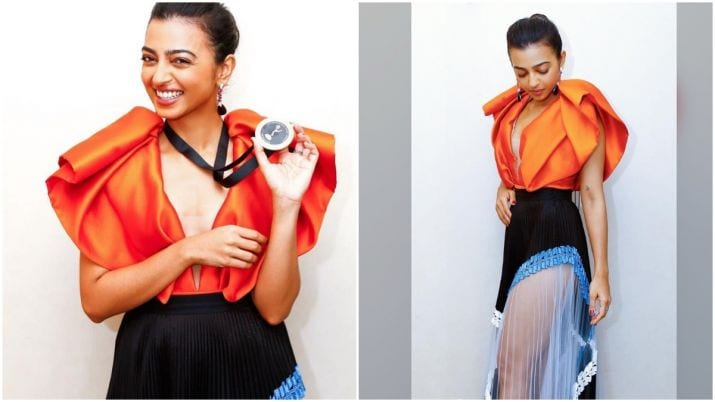 Radhika Apte participates in International Emmy Honors in New York, shows off nomination medal (See Pictures)|Celebrities Information– India TV