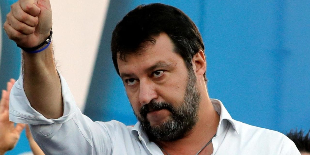 Italian far-right leader Salvini swears off eating Nutella after finding out it contains Turkish nuts
