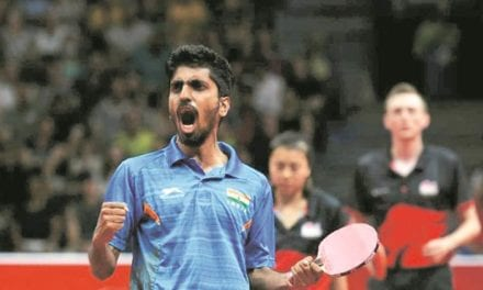 G Sathiyan enters last-16 in ITTF World Cup, faces Timo Boll next | Sports News, The Indian Express