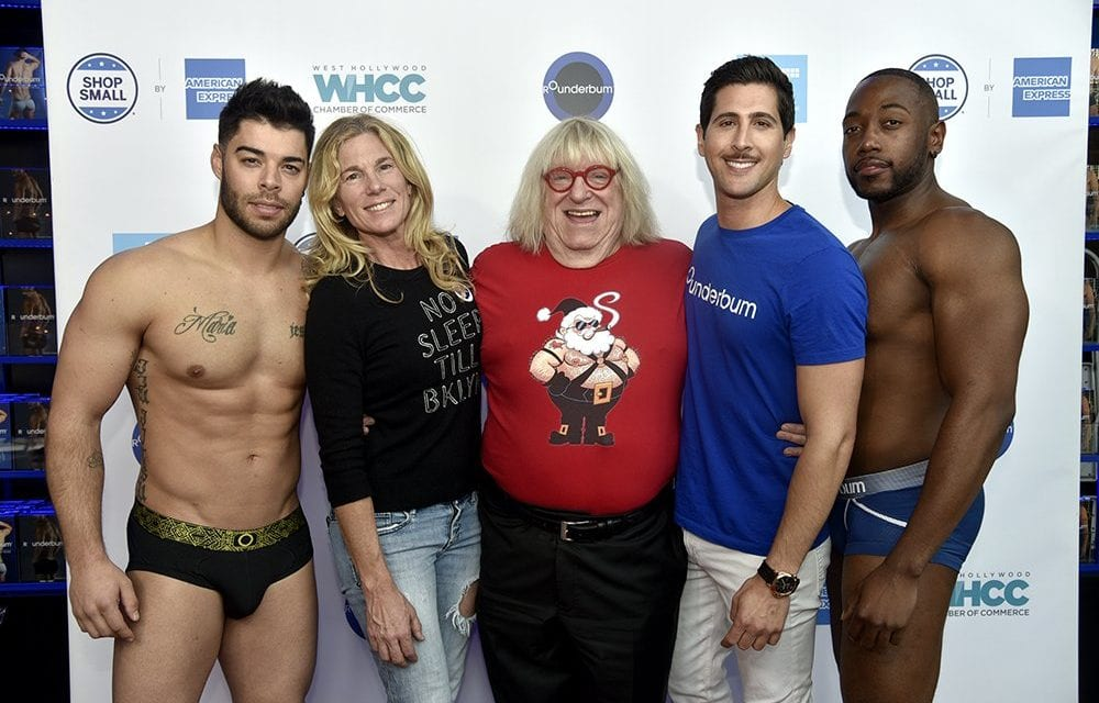Stars Appeared in Assistance of Small Business Saturday in WeHo – WeHo Times