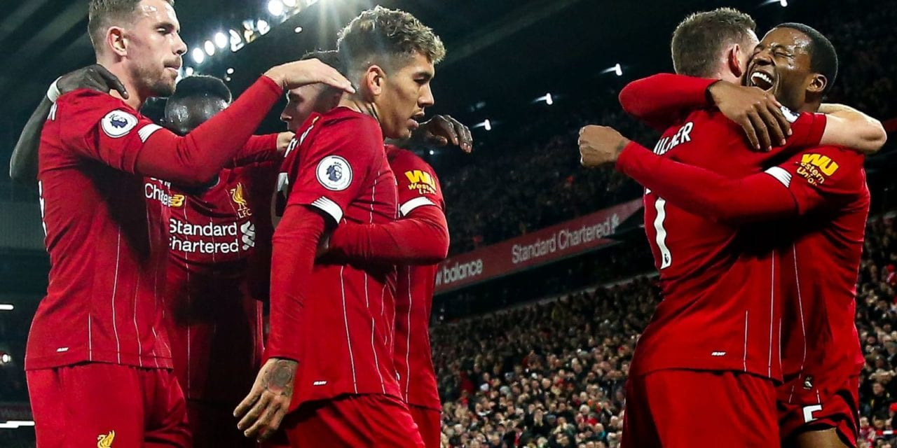 Liverpool 5 – 2 Everton – Match Report & Highlights