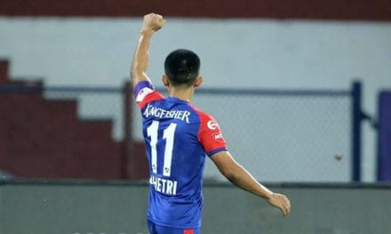 Sunil Chhetri scores in Bengaluru's 1-0 win over Kerala Blasters | Sports News, The Indian Express