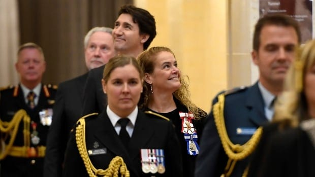Thronespeech promises tax cut, climate action and ban on military-style firearms | CBC News